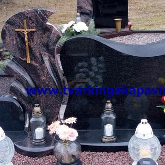Paminklai, antkapiai, granito plokštės, kapų tvarkymas / TVARKINGA KAPAVIETĖ / Darbų pavyzdys ID 401935