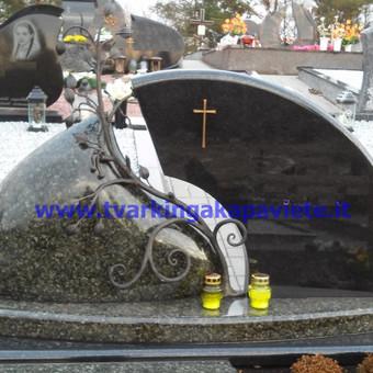 Paminklai, antkapiai, granito plokštės, kapų tvarkymas / TVARKINGA KAPAVIETĖ / Darbų pavyzdys ID 401939