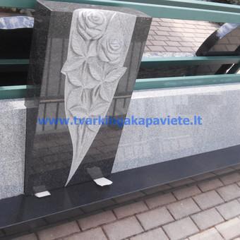 Paminklai, antkapiai, granito plokštės, kapų tvarkymas / TVARKINGA KAPAVIETĖ / Darbų pavyzdys ID 401943