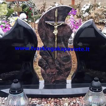 Paminklai, antkapiai, granito plokštės, kapų tvarkymas / TVARKINGA KAPAVIETĖ / Darbų pavyzdys ID 401945