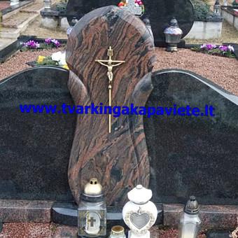 Paminklai, antkapiai, granito plokštės, kapų tvarkymas / TVARKINGA KAPAVIETĖ / Darbų pavyzdys ID 401947