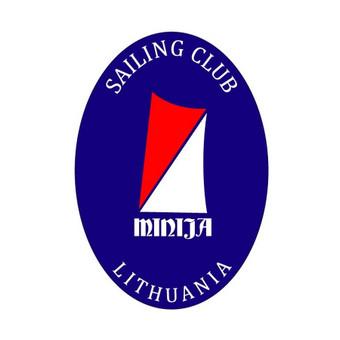 Mingės jachtklubo logo