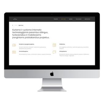 Internetinių svetainių, el. parduotuvių kūrimas ir vystymas! / etNoir / Darbų pavyzdys ID 404315