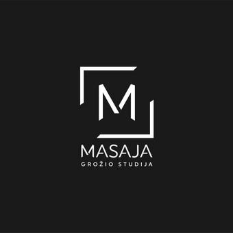 Masaja - grožio studija. Pavadinimo ir logotipo sukūrimas grožio salonui.   |   Logotipų kūrimas - www.glogo.eu - logo creation.