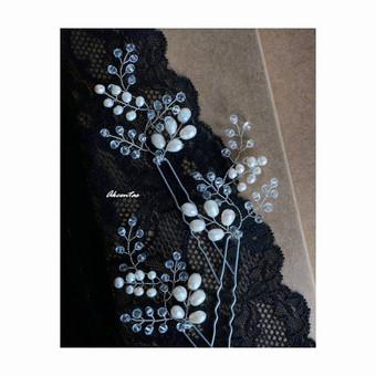 Klasikinis perlų-kristalų derinys <3