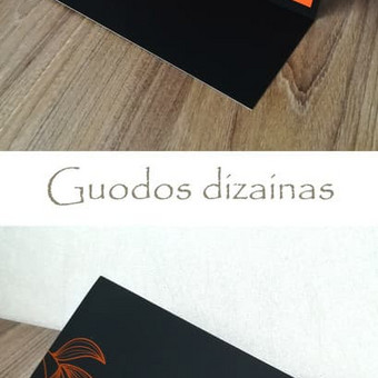 Grafikos dizainerė / Guoda / Darbų pavyzdys ID 405575