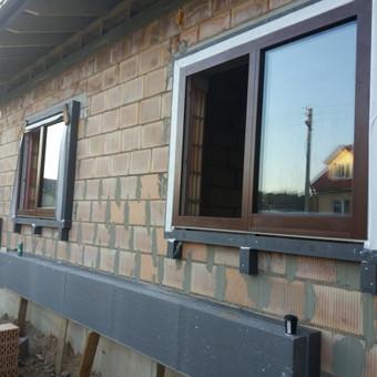 Plastiko, Aliuminio, Medžio profilio langai,durys,pertvaros / UAB / Darbų pavyzdys ID 405969