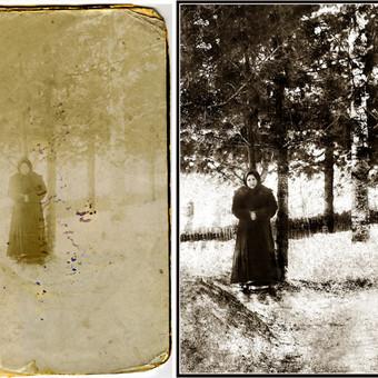 Nuotraukų restauravimas / Aleksandras / Darbų pavyzdys ID 406715