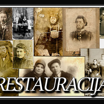 Nuotraukų restauravimas / Aleksandras / Darbų pavyzdys ID 406741