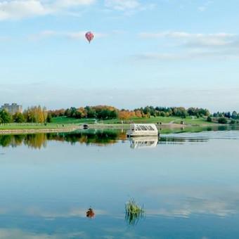 Plukdome plaustu Mascio ezere / Dainius / Darbų pavyzdys ID 63324
