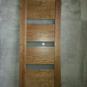 Medinių durų, laiptų ir kubilų gamyba / Saulius / Darbų pavyzdys ID 407891