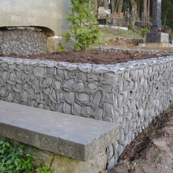 Kapų tvarkymas, granito plokštės, Paminklai, antkapiai / Paulius Latvys / Darbų pavyzdys ID 408989