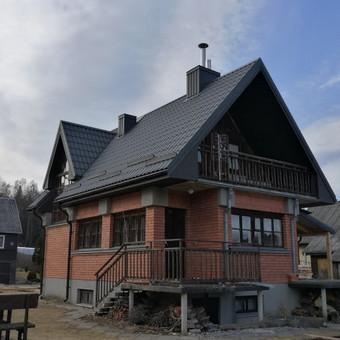 Stogų dengimas, stogdengiai, fasadai / Andrius / Darbų pavyzdys ID 409353