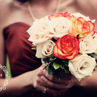 Gėlės vestuvėms / Egidija Janeliūnienė / Darbų pavyzdys ID 412729