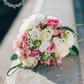 Gėlės vestuvėms / Egidija Janeliūnienė / Darbų pavyzdys ID 412759