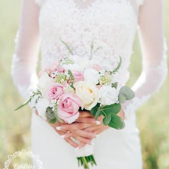 Gėlės vestuvėms / Egidija Janeliūnienė / Darbų pavyzdys ID 412763
