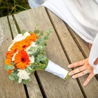 Gėlės vestuvėms / Egidija Janeliūnienė / Darbų pavyzdys ID 412779