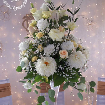 Gėlės vestuvėms / Egidija Janeliūnienė / Darbų pavyzdys ID 412787