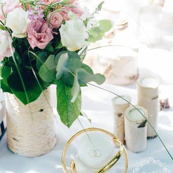 Gėlės vestuvėms / Egidija Janeliūnienė / Darbų pavyzdys ID 412801