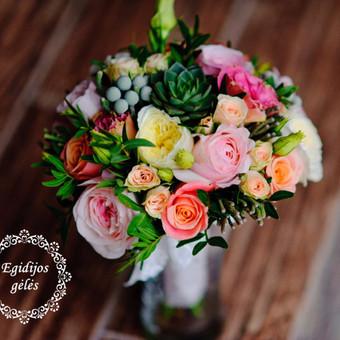 Gėlės vestuvėms / Egidija Janeliūnienė / Darbų pavyzdys ID 412805