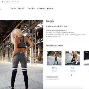 Internetinių Svetainių Kūrimas / Nikita Rancevas / Darbų pavyzdys ID 413153