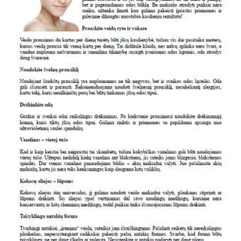 Tekstų kūrėja Klaipėdoje / Jolita Milkerytė / Darbų pavyzdys ID 64181