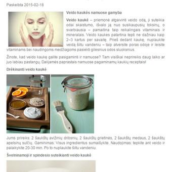 Tekstų kūrėja Klaipėdoje / Jolita Milkerytė / Darbų pavyzdys ID 64185
