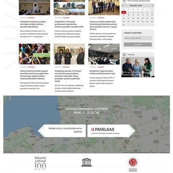 Interneto svetainių kūrimas, verslo valdymo sistemos / Robertas Kaunas / Darbų pavyzdys ID 416843