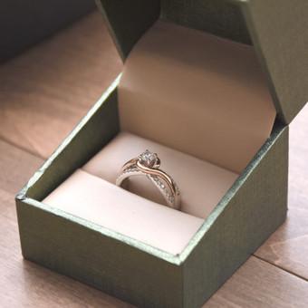 Vestuviniai ir sužadėtuvių žiedai / Artūras Lapuchinas / Darbų pavyzdys ID 417453