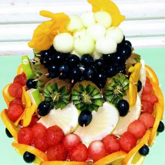 Vaisių tortai ir dekoracijos / Rasa / Darbų pavyzdys ID 418131