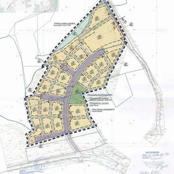 Detalusis planas buvusiame Kryžokų kaime 2014m. bendraautoriai R. Kazickas, A.Daujotas, I.Smalinskas, R.Rakickaitė