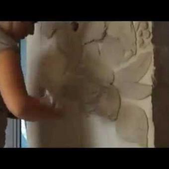 Interjero dekoravimas, bareljefai, freskos, sienų skulptūros / Lina / Darbų pavyzdys ID 421485