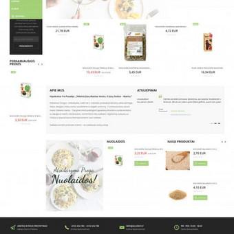 """Internetinių puslapių ir el. parduotuvių kūrimas / """"Montibus"""", MB / Darbų pavyzdys ID 424495"""