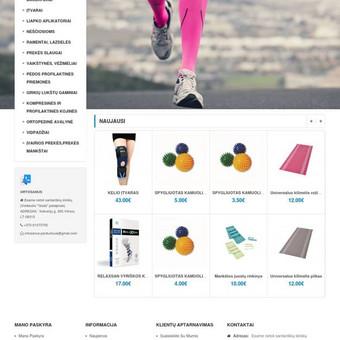 Internetinių svetainių, e. shop kūrimas- INTERATEITIS / UAB Interateitis / Darbų pavyzdys ID 425053