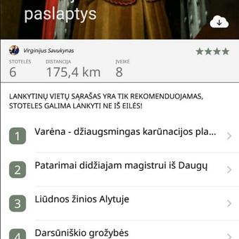 Android ir iOS mobiliųjų programėlių kūrimas / Naglis Žemaitis / Darbų pavyzdys ID 430199