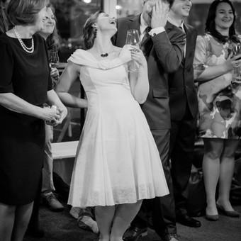 Kai vestuvėse linksma ir kvatoti norisi (vestuvių fotografija)