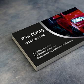 Maketavimas, logotipų kūrimas, spaudos darbai ir kt. / MB Prospauda / Darbų pavyzdys ID 432833