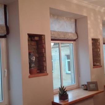 Interjero tekstilės dekoravimas ir siuvimas. / Inga Brancevičienė / Darbų pavyzdys ID 432909