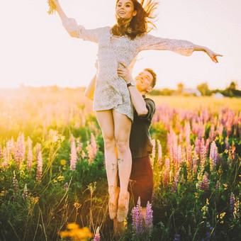 Profesionali vestuvių-meilės fotografija / Reda Jokymaitytė / Darbų pavyzdys ID 433009