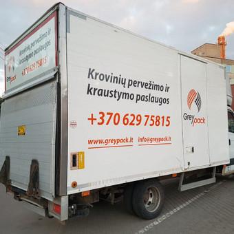 GreyPack - kraustymo ir transporto įmonė / GreyPack / Darbų pavyzdys ID 434359