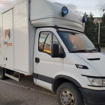 GreyPack - kraustymo ir transporto įmonė / GreyPack / Darbų pavyzdys ID 434361