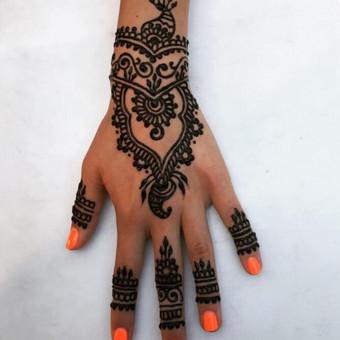 Piešiu laikinas henna chna tatuiruotes Vilniuje / Sigita Žvirgždaitė / Darbų pavyzdys ID 446791