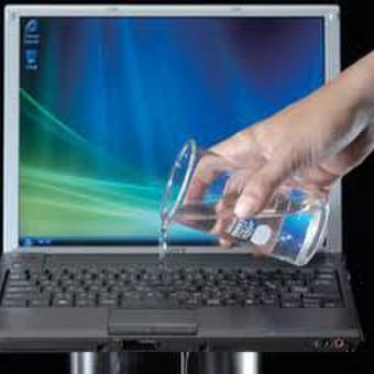 Uzpiltu pasvilusiu notebooku taisymas / NKC / Darbų pavyzdys ID 447425