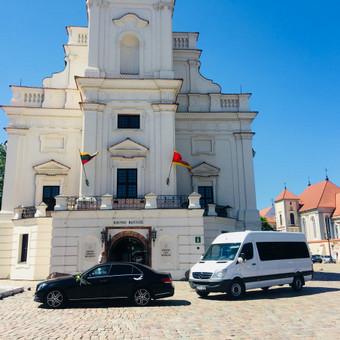 Keleivinių baltų Mercedes Sprinter mikroautobusų nuoma / Algimantas / Darbų pavyzdys ID 447999