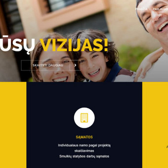 Kokybiški tinklalapiai ir e-parduotuvės / Linas Gudaitis-Rūkas / Darbų pavyzdys ID 450293