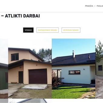 Kokybiški tinklalapiai ir e-parduotuvės / Linas Gudaitis-Rūkas / Darbų pavyzdys ID 450295