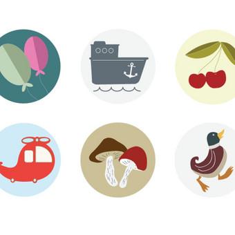 Grafinis dizainas - iliustracijos / Salomėja / Darbų pavyzdys ID 450451