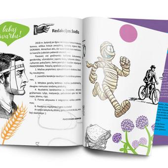 Grafinis dizainas - iliustracijos / Salomėja / Darbų pavyzdys ID 450469