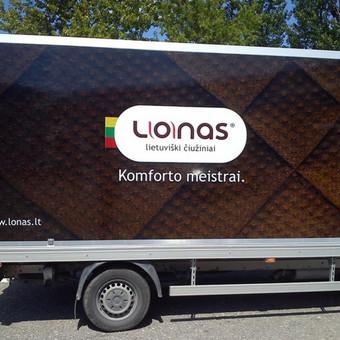 Reklama ant automobilio, lipdukų gamyba, lauko/vidaus reklam / Trigalvis.lt / Darbų pavyzdys ID 451423