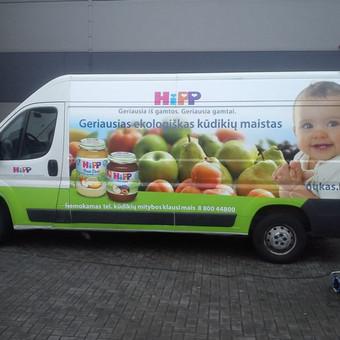 Reklama ant automobilio, lipdukų gamyba, lauko/vidaus reklam / Trigalvis.lt / Darbų pavyzdys ID 451427